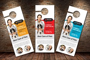 Pet Clinic & Care Centre Door Hanger