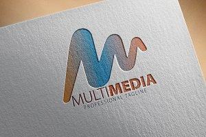 Letter M / Multi Media Logo