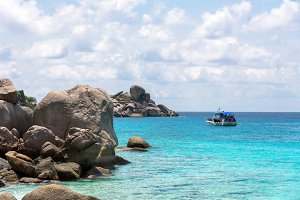 Sea and beach in Mu Ko Similan