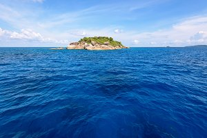 Island and sea in summer Thailand