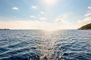 Andaman Sea in summer