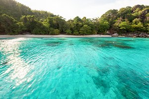 Andaman Sea in summer