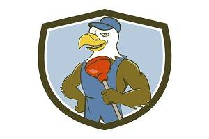 Bald Eagle Plumber Plunger Cres
