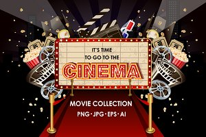 Cinema or movie collection