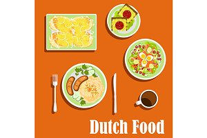 Dutch cuisine food