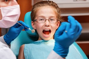 Dental clinic. Pediatric dentist