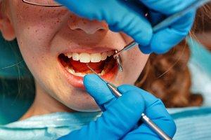 Children's dentistry. Dental clinic
