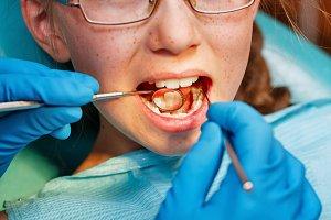 Dental clinic. Children dentistry