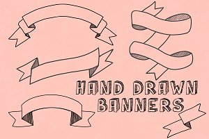 Hand Drawn Banners