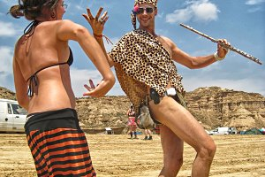 EDITORIAL: dancing in the desert