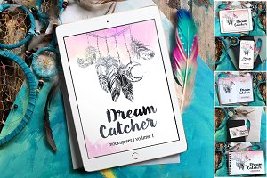 6 Dreamcatcher Mockups