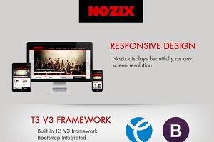 Nozix - Music Responsive Template