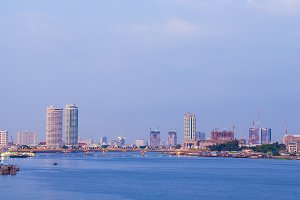 Building and River City, Bangkok