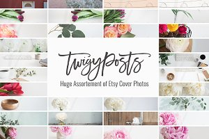 Cover Photos for Etsy | OVER 40 pics