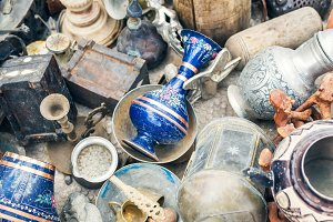 Antiquities at the flee-market