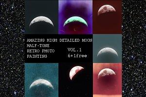 HIGH DETAILED MOON vol.1