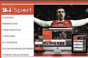 SJ eSport - K2 responsive template