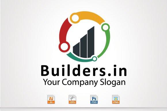 Builders.in Logo - Logos