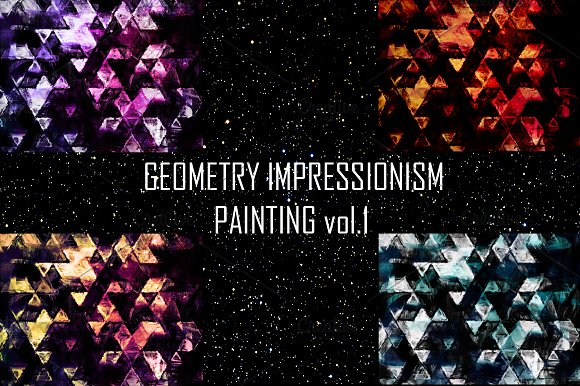 GEOMETRY IMPRESSIONISM vol.1 - Patterns