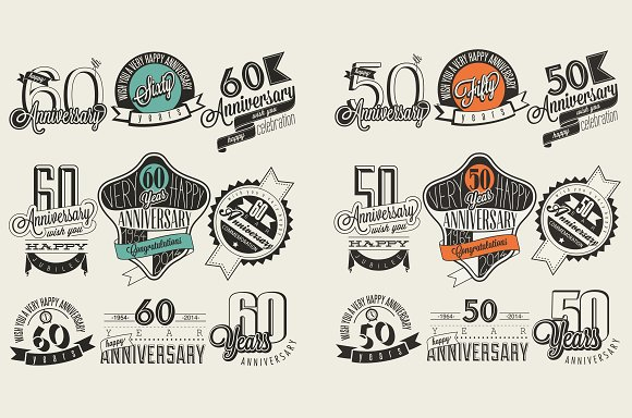 Download 50 and 60 anniversary collection