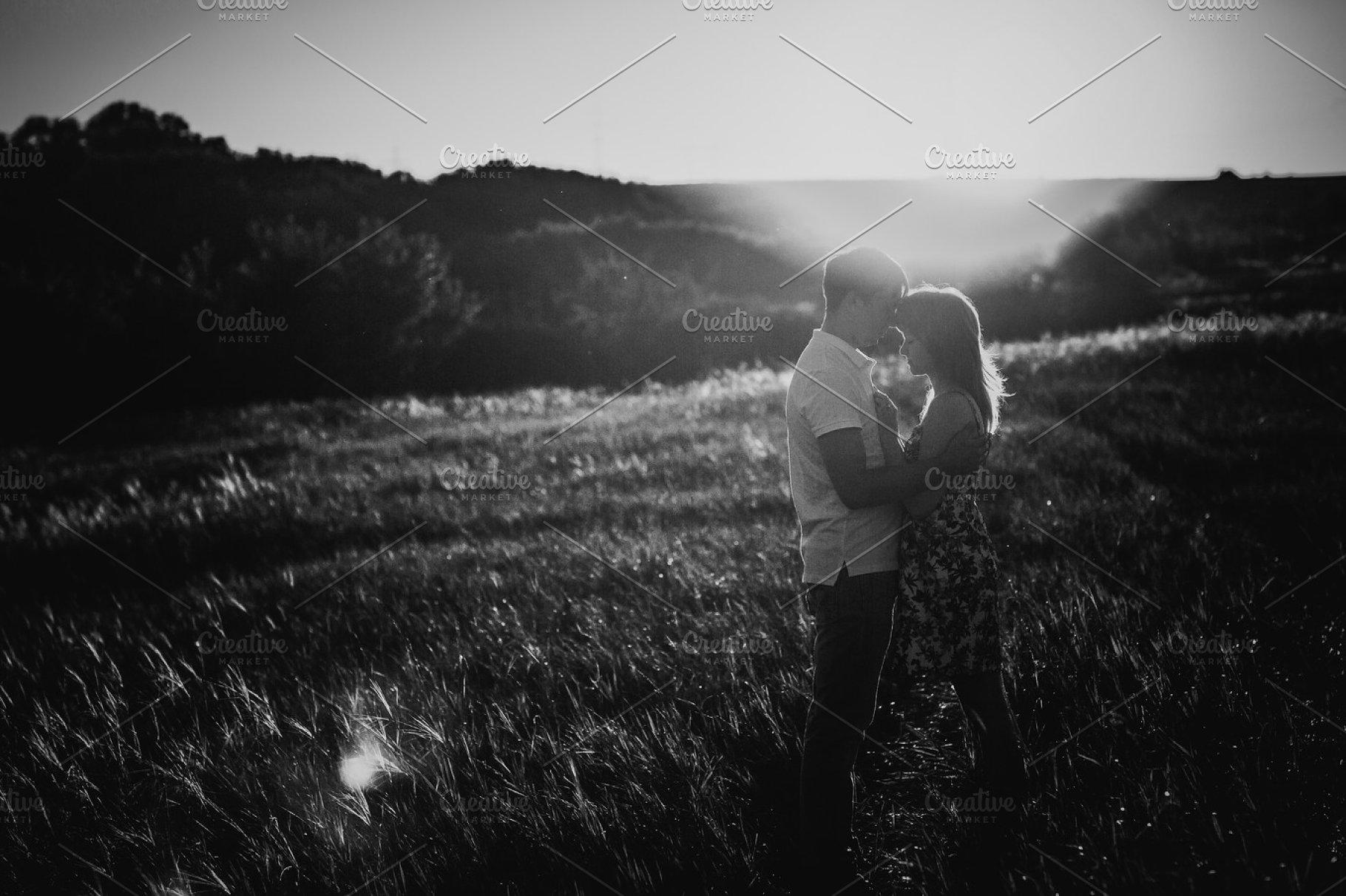 Black white photography romantic