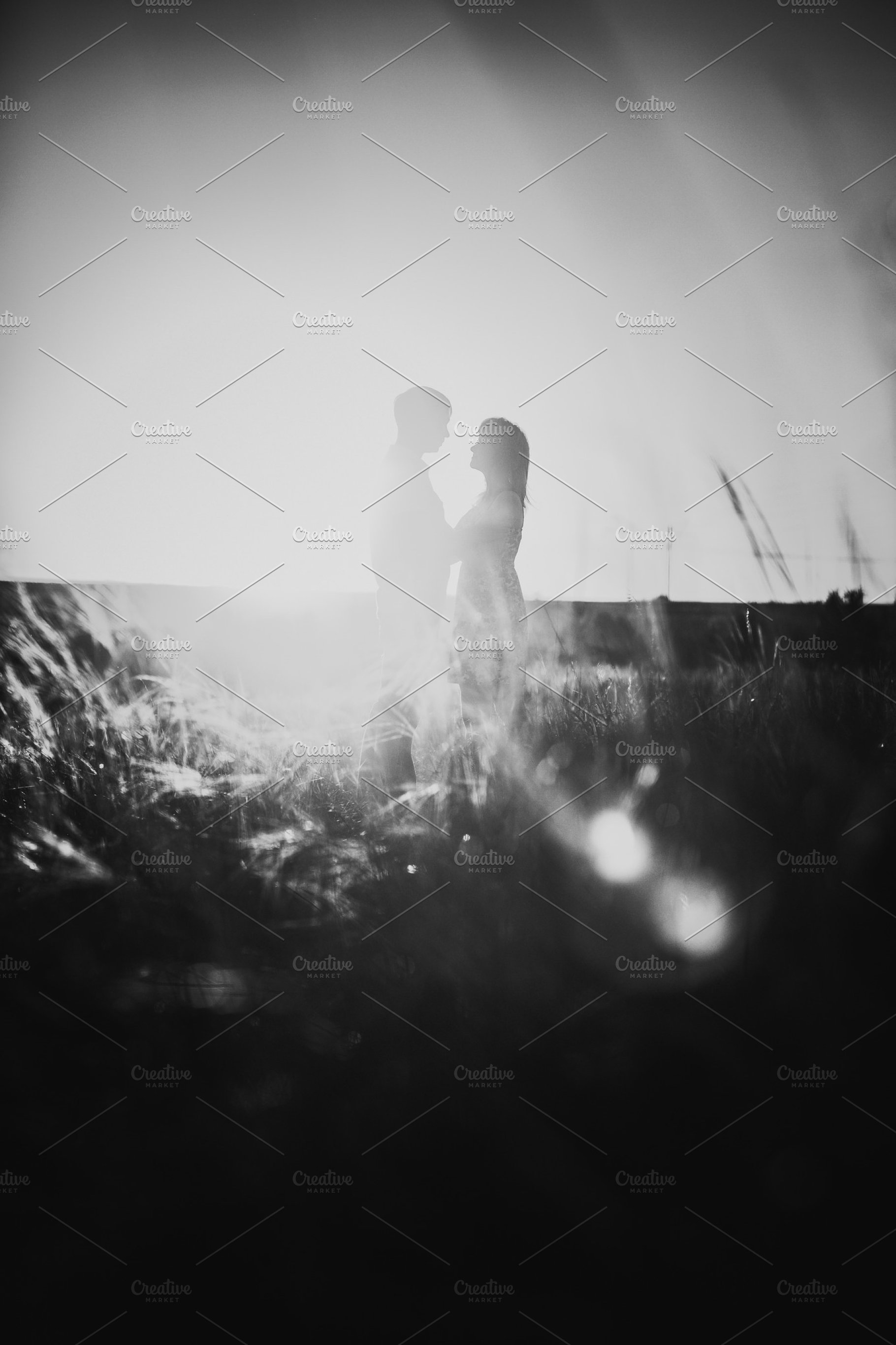 Black white photography romantic