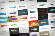 50 Various Web Buttons (.psd)