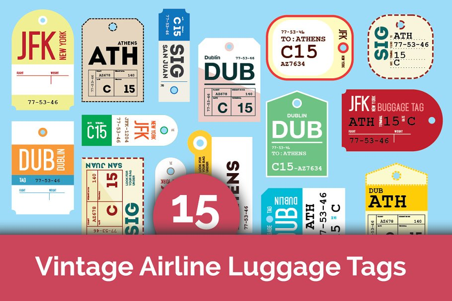 airline bag tag template luggage label editable free.html