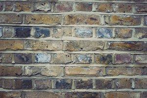Yellow brick wall, London
