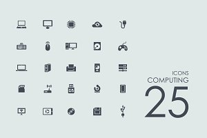 25 Сomputing icons