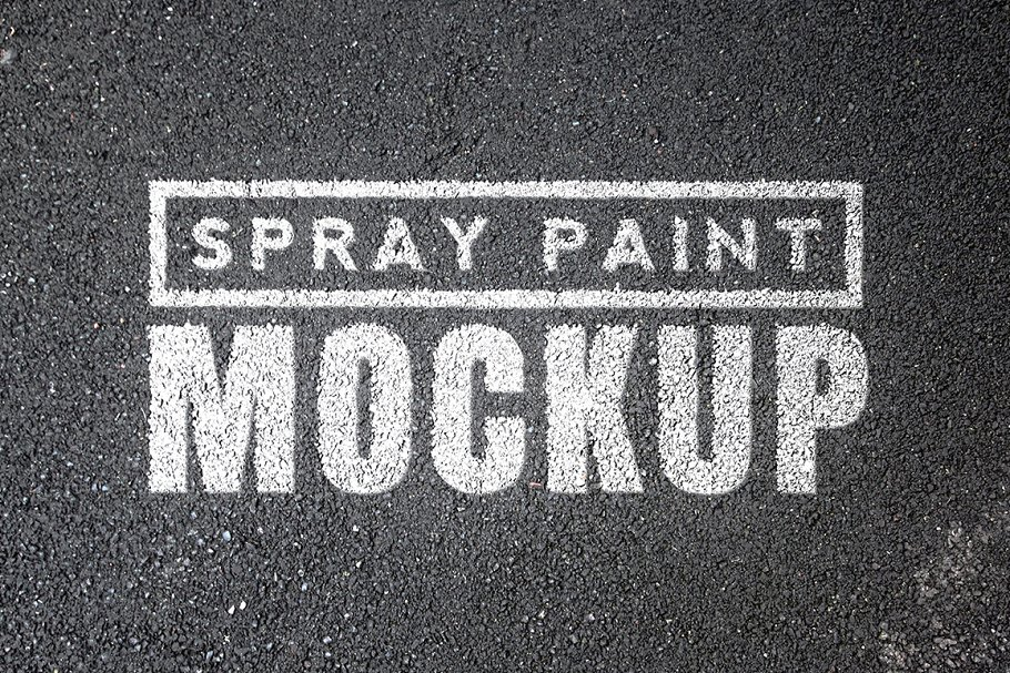 Spray Paint Mockups Bundle Mockup Templates Creative Market