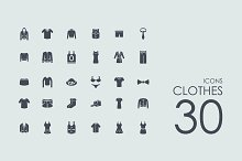 30 Сlothes icons