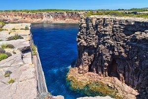 Carloforte - Mezzaluna cliff