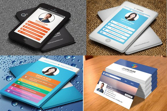 44 off 4 business card bundle business card templates 44 off 4 business card bundle business card templates creative market reheart Gallery