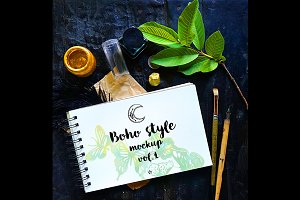 Boho Style Mockup vol.1