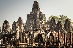 Ancient Angkor Wat Angkor Thom