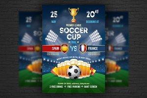 Soccer Poster / Flyer Template