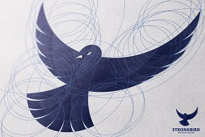 Bird Professional Golden Ratio Logo
