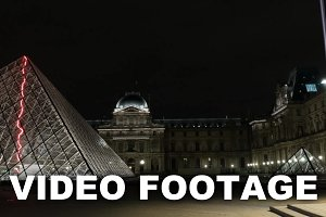 Hyperlapse of Louvre and Pyramid