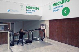Indoor Signage Mockup - 01