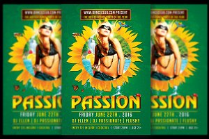 Passion Summer Flyer Template