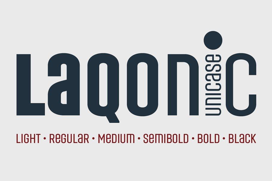 Laqonic 4F Unicase (Family)
