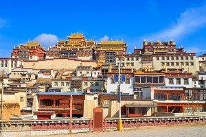 Tibetan Monastery, Shangri-la
