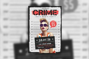 Indie Crime Poster/Flyer