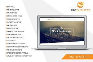 Multipurpose HTML5 Template