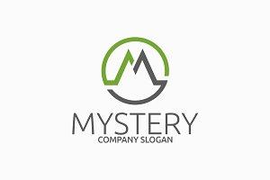 Mystery - M Letter Logo