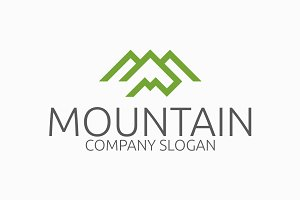 Mountain - M Logo