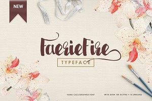 FaerieFire Typeface (50% OFF!)