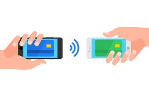 Mobile payments by smartphone