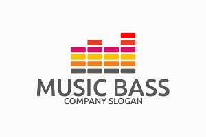 Music Bass Logo